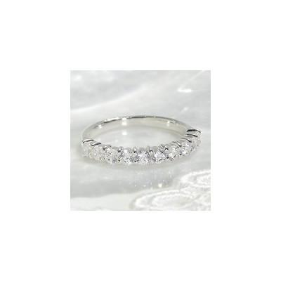 ダイヤモンド エタニティ リング プラチナ pt950 0.7ct ダイヤ 指輪 Hカラー SIクラス テンダイヤ 10ダイヤ