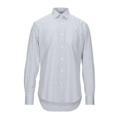 ランバン LANVIN シャツ ホワイト 40 コットン 100% シャツ