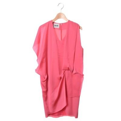 ACNE MALLORY ドレス ワンピース 34 ピンク アクネ