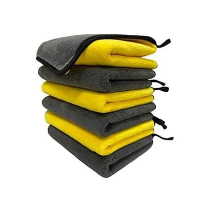 CHUNMU 800GSM Professional Premium Microfiber Towels Car Drying Towels,Soft