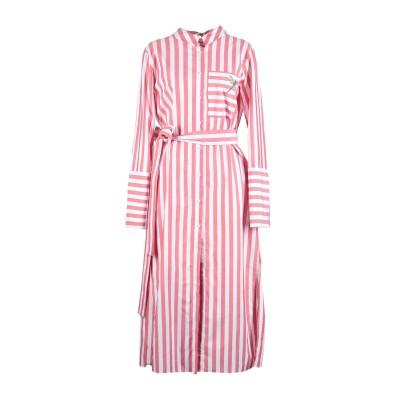 VIVETTA 7分丈ワンピース・ドレス ガーネット 40 100% コットン 7分丈ワンピース・ドレス