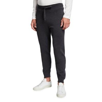 コルネリアーニ メンズ カジュアルパンツ ボトムス Men's Solid Track Suit Pants
