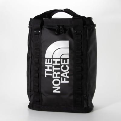 ザ ノース フェイス THE NORTH FACE EXPLORE FUSEBOX L BACKPACK / エクスプローラー ヒューズボックス (KX4)ブラック/ホワイト (BLACK)