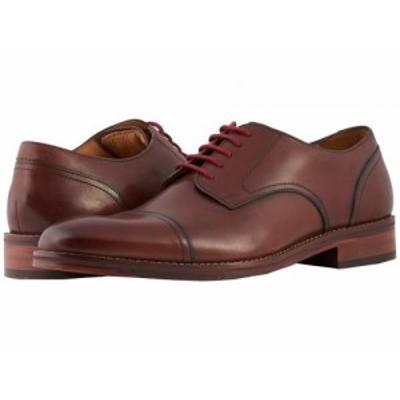 Florsheim フローシャイム メンズ 男性用 シューズ 靴 オックスフォード 紳士靴 通勤靴 Salerno Cap Toe Oxford Cognac【送料無料】