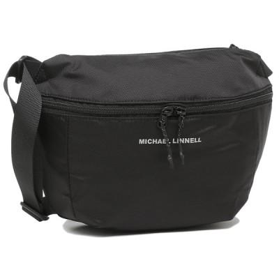 マイケルリンネル ショルダーバッグ ユニセックス 3L MICHAEL LINNELL MLEP-05 ブラック