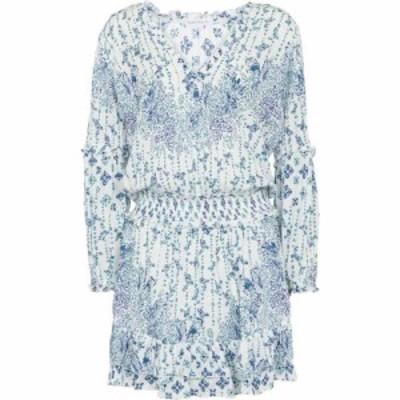 プーペット セント バース Poupette St Barth レディース ワンピース ミニ丈 ワンピース・ドレス ilona floral minidress Blue Parrot Ba