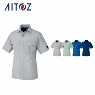 AZ-1637 アイトス 半袖シャツ(男女兼用) | 作業着 作業服 オフィス ユニフォーム メンズ レディース