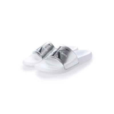 カルバン クライン Calvin Klein サンダル (Silver/White)