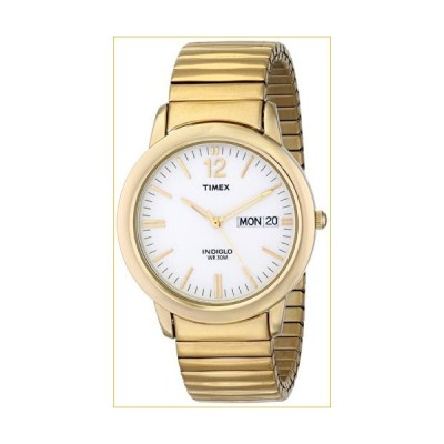 Timex Men's T21942 Chambers Street Gold-Tone Stainless Steel Expansion Band Watch 並行輸入品