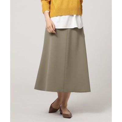 スカート ミディ丈マーメードスカート