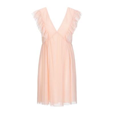 メルシー ..,MERCI ミニワンピース&ドレス ライトピンク 40 ポリエステル 100% ミニワンピース&ドレス