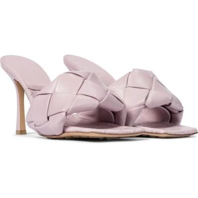 ボッテガ ヴェネタ Bottega Veneta レディース サンダル・ミュール シューズ・靴 BV Lido leather sandals Magnolia
