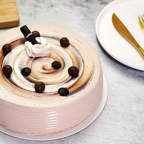 【限門市自取】黑糖珍奶冰淇淋蛋糕