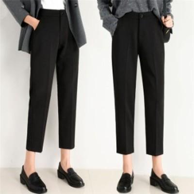 レディース スラックス パンツ ビジネス 大きいサイズ スーツパンツ フォーマルパンツ 美脚パンツ ビジネスパンツ テーパードパンツ