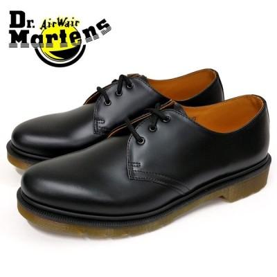 Dr.Martens ドクターマーチン3EYE SHOE 1461PW 3ホール シューズ(10078001) ブラック メンズシューズ 革靴 カジュアル ビジネス 紳士靴