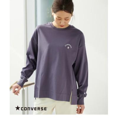 【CONVERSE】シルケットスムースロングTシャツ