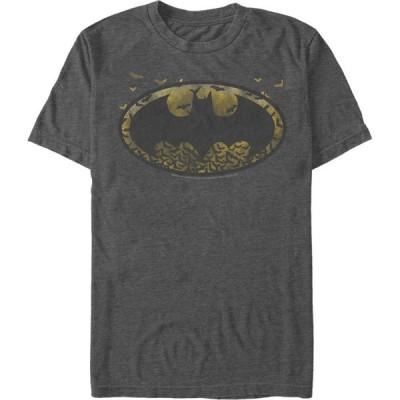 フィフス サン Fifth Sun メンズ Tシャツ トップス Batman Bat Colony Logo T-Shirt charcoal heather