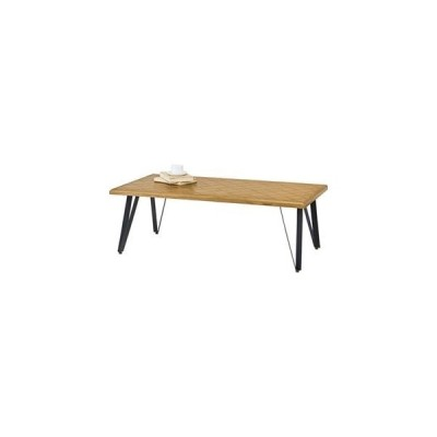 ds-2173229 モダン ローテーブル/センターテーブル 【幅116cm】 長方形 木製 アイアン 『ジョーカー』 〔リビング 店舗 飲食店〕 (ds2173229)