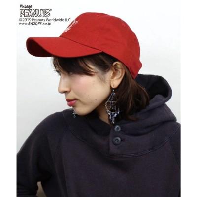 帽子 キャップ 【PEANUTS/ピーナッツ】EXERCISING SNOOPY BB CAP
