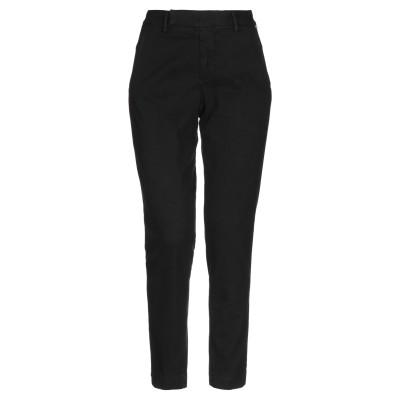 ロイ ロジャース ROŸ ROGER'S パンツ ブラック 24 コットン 87% / ポリエステル 10% / ポリウレタン 3% パンツ