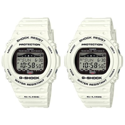 Newモデル 国内正規品 カシオ Gショック G-SHOCK ジーショック G-LIDE 電波ソーラー デジタル ホワイト GWX-5700CS-7JFGWX-5700CS-7JF 腕時計