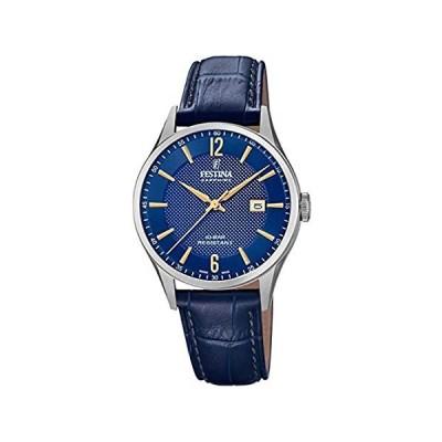 【新品・送料無料】[男性用腕時計]Festina Unisex Adult Analogue Quartz Watch with Leather Strap F2000