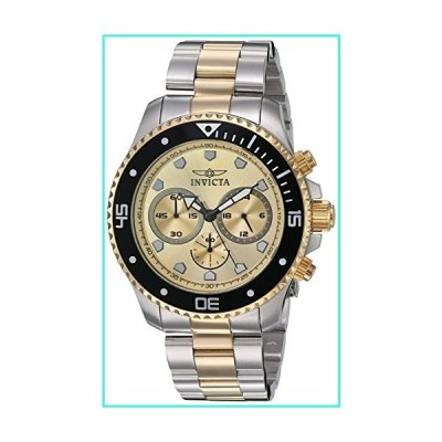 【新品】Invicta Men's 'Pro Diver' Quartz Stainless Steel Watch, Color:Two Tone (Model: 21790)(並行輸入品)