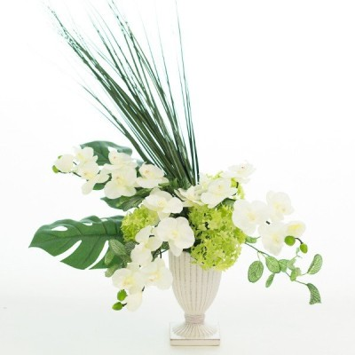 胡蝶蘭 アレンジメント 造花 フラワー アーティフィシャルフラワー アートフラワー 光触媒 花 フラワー ギフト 贈り物 プレゼント お祝い