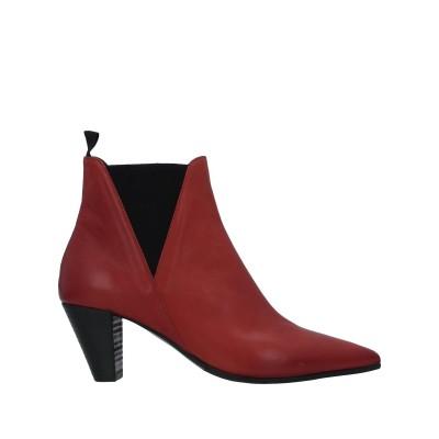 VIC MATIĒ ショートブーツ 赤茶色 41 革 / 紡績繊維 ショートブーツ
