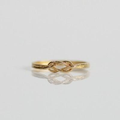 moca.arpeggio(モカ アルペジオ) / CR-8 Knot 飾り結びリング - ゴールド レディース 指輪 ギフト プレゼント 贈り物 アクセサリー ジ