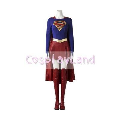高品質 高級コスプレ衣装 スーパーガール 風 オーダーメイド コスチュームドレス Supergirl Costume Cospl