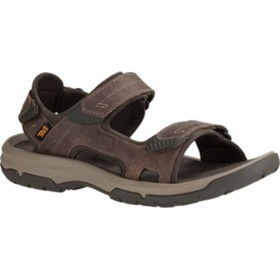 テバ メンズ サンダル シューズ Men's Teva Langdon Active Sandal Walnut