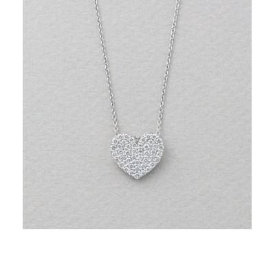 K18 ホワイトゴールド ダイヤモンド ネックレス(0.52ct)