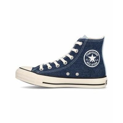コンバース ハイカット スニーカー レディース オールスターマルチデニムHI ALL STAR MULTIDENIM HI converse 1SC516 ブルー