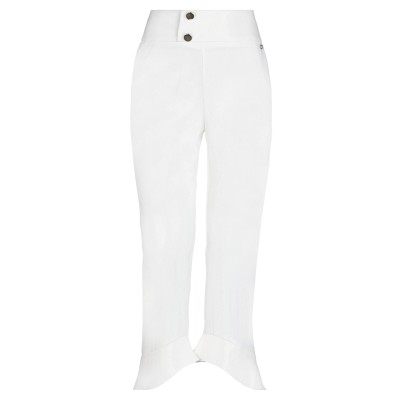 レリッシュ RELISH パンツ ホワイト 42 ポリエステル 93% / ポリウレタン 7% パンツ