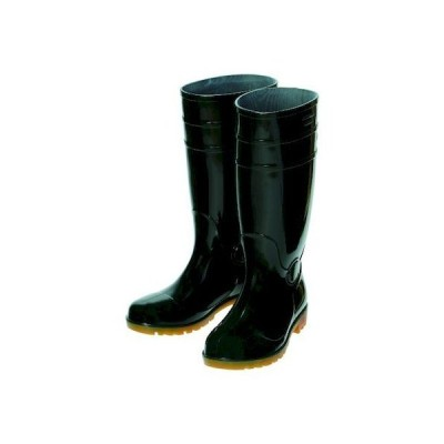 TRUSCO ORSB260-BK 鉄先芯入PVC耐油長靴 26.0CM ブラック ORSB260BK ブラック2072551