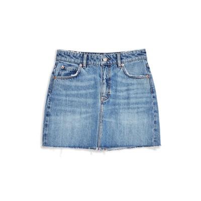 トップショップ TOPSHOP デニムスカート ブルー 10 コットン 100% デニムスカート