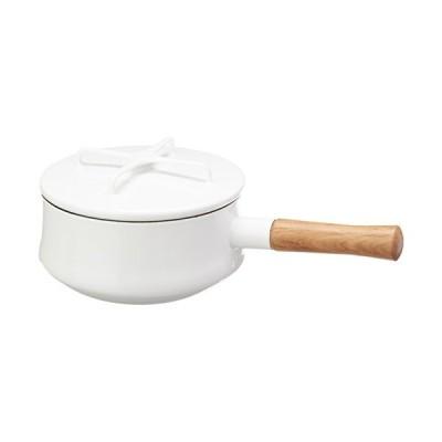 Dansk Kobenstyle White Saucepan, Medium[並行輸入品]