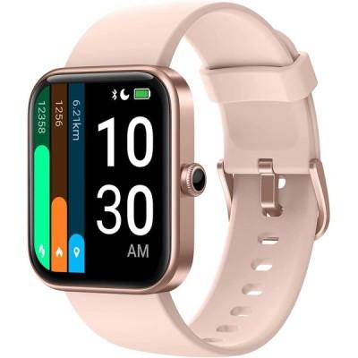 スマートウォッチ Alexa対応 YAMAY ID206 腕時計 レディース メンズ 文字盤自由設定 天気表示 着信通知