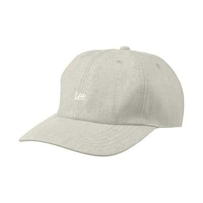 [リー] ローキャップ LE LOW CAP LINEN 105176001 GRAY 日本 57cm~59cm (日本サイズM-L相当)