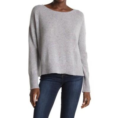 360カシミア レディース ニット&セーター アウター Greyson Anchor Graphic Cashmere Sweater H.GREY/PAPAYA