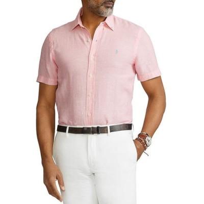 ラルフローレン メンズ シャツ トップス Classic Fit Short-Sleeve Linen Shirt