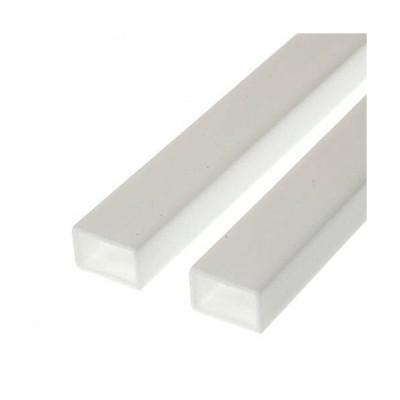 エバーグリーン プラ素材角パイプ(長方形)外寸6.3x9.5mm内寸4.9x8.1mm板厚0.69mm長さ35cm (2本入り)