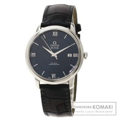 オメガ OMEGA 442.13.40.20.03.001  デビル  腕時計 ステンレススチール 革   メンズ  中古