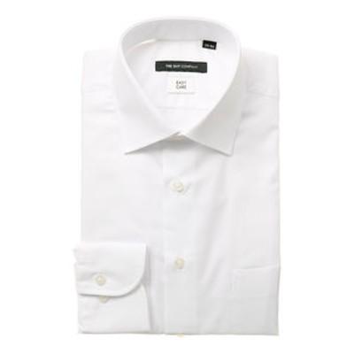 ワイドカラードレスシャツ 織柄 〔EC・BASIC〕