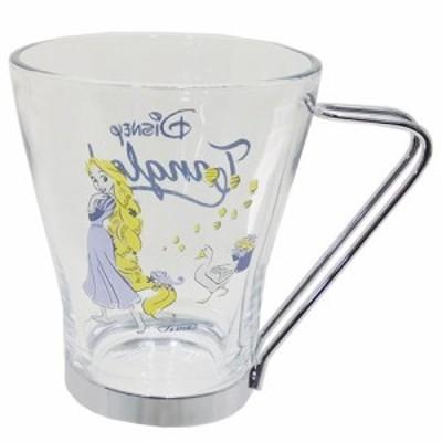 ◆塔の上のラブンツェル ハンドル付きグラスマグ (ディズニー)マグカップ おしゃれ コップ マグ 食器(C66)