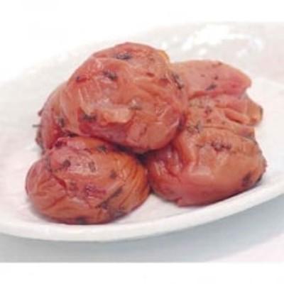 《紀州南高梅》しそかつお梅干し つぶれ梅(はちみつ入り)(ご家庭用) 1kg