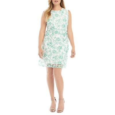 ザ・リミティッド レディース ワンピース トップス Plus Size Lace Shift Dress