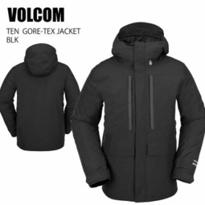 VOLCOM ボルコム ウェア TEN GORE-TEX JACKET 21-22 BLK メンズ ジャケット スノーボード ゴアテックス