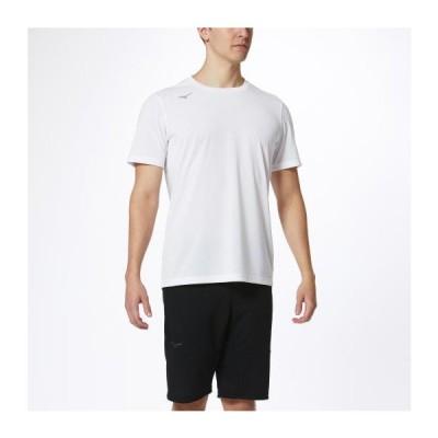 ミズノ公式 Tシャツ メンズ ホワイト